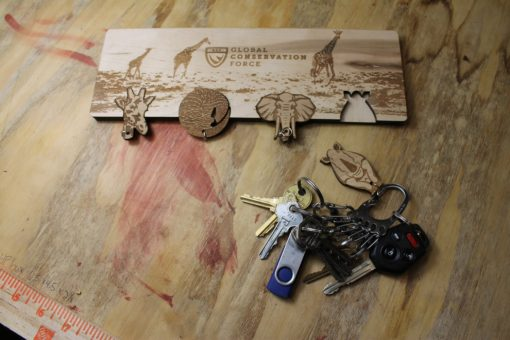 Global Conservation Force Key Hanger
