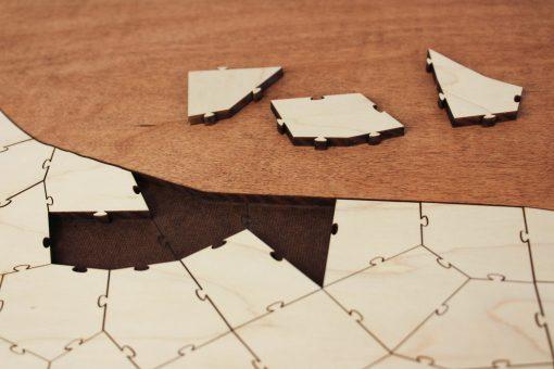 puzzle pieces guest book