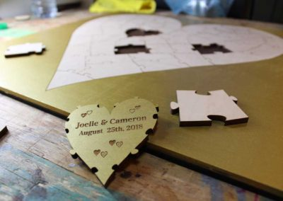 Gold Heart Puzzle
