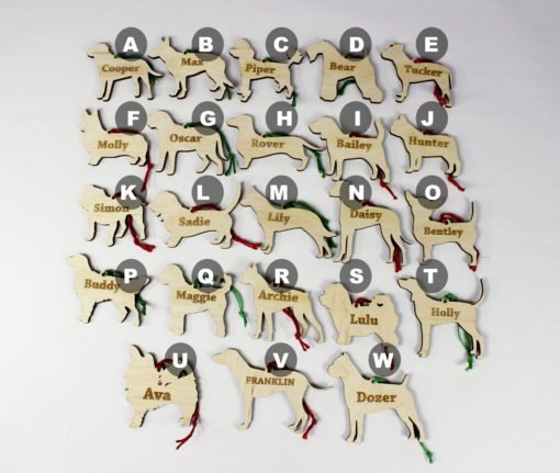 bulk dog ornaments