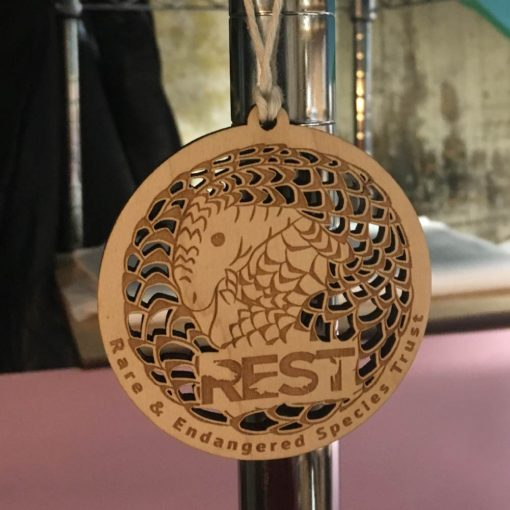 REST Ornament Pangolin Wooden Havoly