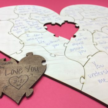 Valentines Day Gift Heart Puzzle