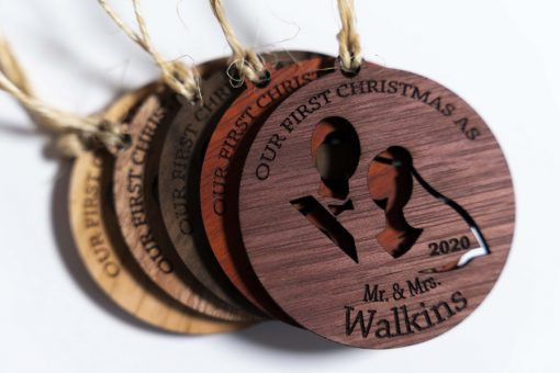 First Xmas Personalized Ornaments all styles 9x6